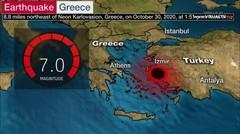 Turki dan Yunani Dihantam Gempa 7 Magnitudo
