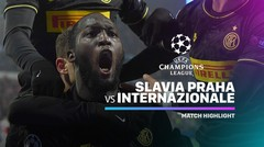 Full Highlight - Slavia Praha vs Internazionale I UEFA Champions League 2019/2020