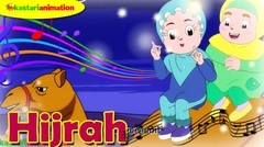 HIJRAH | Lagu Kisah Nabi bersama Diva | Kastari Animation