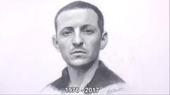 Sketsa Chester Bennington - Linkin Park