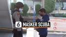 Ingat, Pakai Masker Scuba Bakal Dilarang Naik KRL