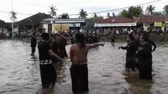 Tradisi Megoak - Goakan Desa Panji Sambut Hari Raya Nyepi 2017