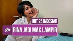 Celeb Update! Seram, Rina Nose Berperan Sebagai Mak Lampir | HUT 25 Indosiar
