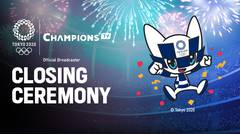 Full | Closing Ceremony: Olympic Games Tokyo 2020