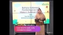GURUku SBOTV KELAS 3 Tema  BAHASA INDONESIA - 09 November 2020