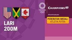 Full Match | Atletik - Perebutan Medali Emas Lari 200m Putra | Olimpiade Tokyo 2020
