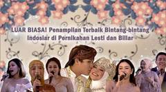 Sampai ke Hati! Persembahan Spesial Sahabat-sahabat Lesti dan Biilar di Acara Pernikahan Leslar