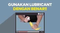 AsmaraKu Tutorial | CARA MENGGUNAKAN LUBRICANT DENGAN BENAR!! by AsmaraKu.com