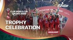 Bayern Munchen's Club World Club League Trophy Celebration | FIFA Club World Cup 2020