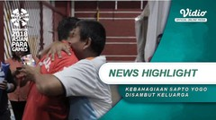 Kebahagiaan Sapto Yogo Disambut Keluarga Setelah Raih Medali Emas