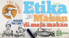 Etika dalam Gambar: Etika Makan di Meja Makan