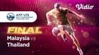 Full Match Final - Thailand 1 vs 2 Malaysia   Piala AFF U-15 2019