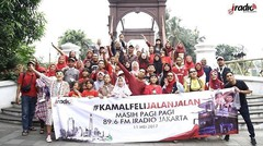 Seru #KamalFeliJalanJalan keliling kota Jakarta