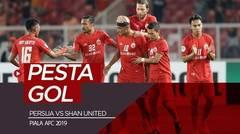 HEBOH..!! HUJAN BOLA KE GAWANG SHAN UNITED PERSIJA JAKARTA 6 - 1 SHAN UNITED AFC Cup 2019