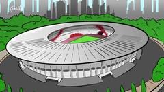 Persija vs Persib: Damailah Suporter Indonesia