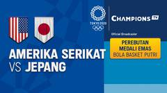 Full match | Bola Basket Putri | Perebutan Medali Emas - Amerika Serikat vs Jepang | Olimpiade Tokyo 2020