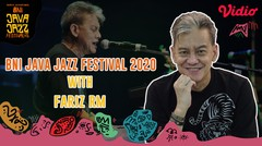 Exclusive Interview With Fariz RM - Java Jazz Festival 2020