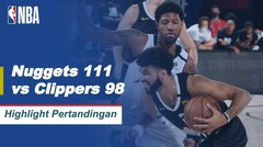 Match Highlight | Denver Nuggets 111 vs 98 Los Angeles Clippers | NBA Playoff Season 2019/20