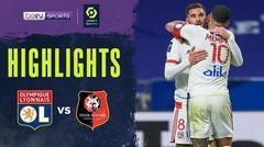 Match Highlight | Lyon 1 vs 0 Rennes | Ligue 1 Uber Eats 2021