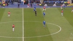 Leicester City vs Manchester United 0-1