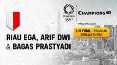 Full Match | Panahan Beregu Putra - Riau Ega, Arif Dwi & Bagas Prastyadi  vs Inggris Raya | Olimpiade Tokyo 2020
