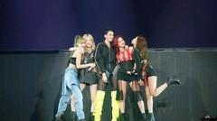 DUA LIPA Joins BLACKPINK Performing Kiss and Make Up at Newark Tour