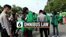 Tiba di Bundaran Patung Arjuna, Polisi Geledah Mahasiswa dan Pelajar