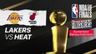 Lakers vs Miami - NBA The Finishers (Bahasa) - 12 Oktober 2020