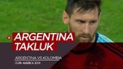 Highlights Copa America 2019, Argentina Vs Kolombia 0-2