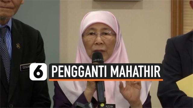 Mahathir Mohamad Mundur, Wan Azizah Dikabarkan Jadi Penggantinya