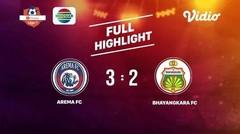 Arema FC (3) VS Bhayangkara FC  (2)  Full Highlight  | Shopee Liga 1