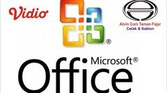 Tutorial Microsoft Word Daftar Urut Kepangkatan