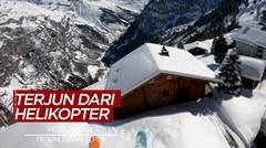 Aksi Keren Peselancar di Pegunungan Alpen Ini Mengundang Decak Kagum