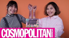 Glou Lipstick Full Complete Swatches & Review | Cosmopolitan Indonesia