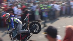 Freestyle motor | Alun alun Purworejo
