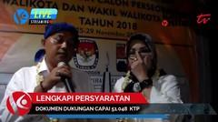 Calon Walikota Bogor Jalur Perseorangan Datangi KPU