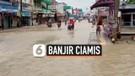 Banjir Satu Meter Putus Akses Ciamis-Pangandaran