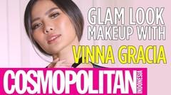 Glam Look Makeup Tutorial With Vinna Gracia | Cosmopolitan Indonesia
