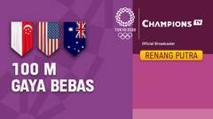 Full Match   Renang Gaya Bebas 100m Putra   Olimpiade Tokyo 2020