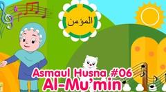AL-MU'MIN - ASMAUL HUSNA 06 | Diva Bernyanyi | Lagu Anak Channel