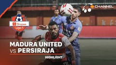 Highlights - Madura United 0 vs 0 Persiraja Banda Aceh | Shopee Liga 1 2020