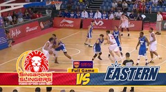 Full Games Singapore Slingers vs Hong Kong Eastern (Playoff Semi Final Game 1)