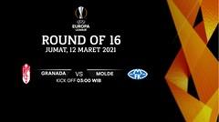 Granada vs Molde - Round Of 16 I UEFA Europa League 2020/21