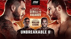 ONE Championship- UNBREAKABLE II - Full Event