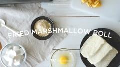 Resep Ramadhan: Fried Marshmallow Roll