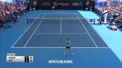 Match Highlight | Madison Keys 2 vs 0 Samantha Stosur | WTA Brisbane International 2020