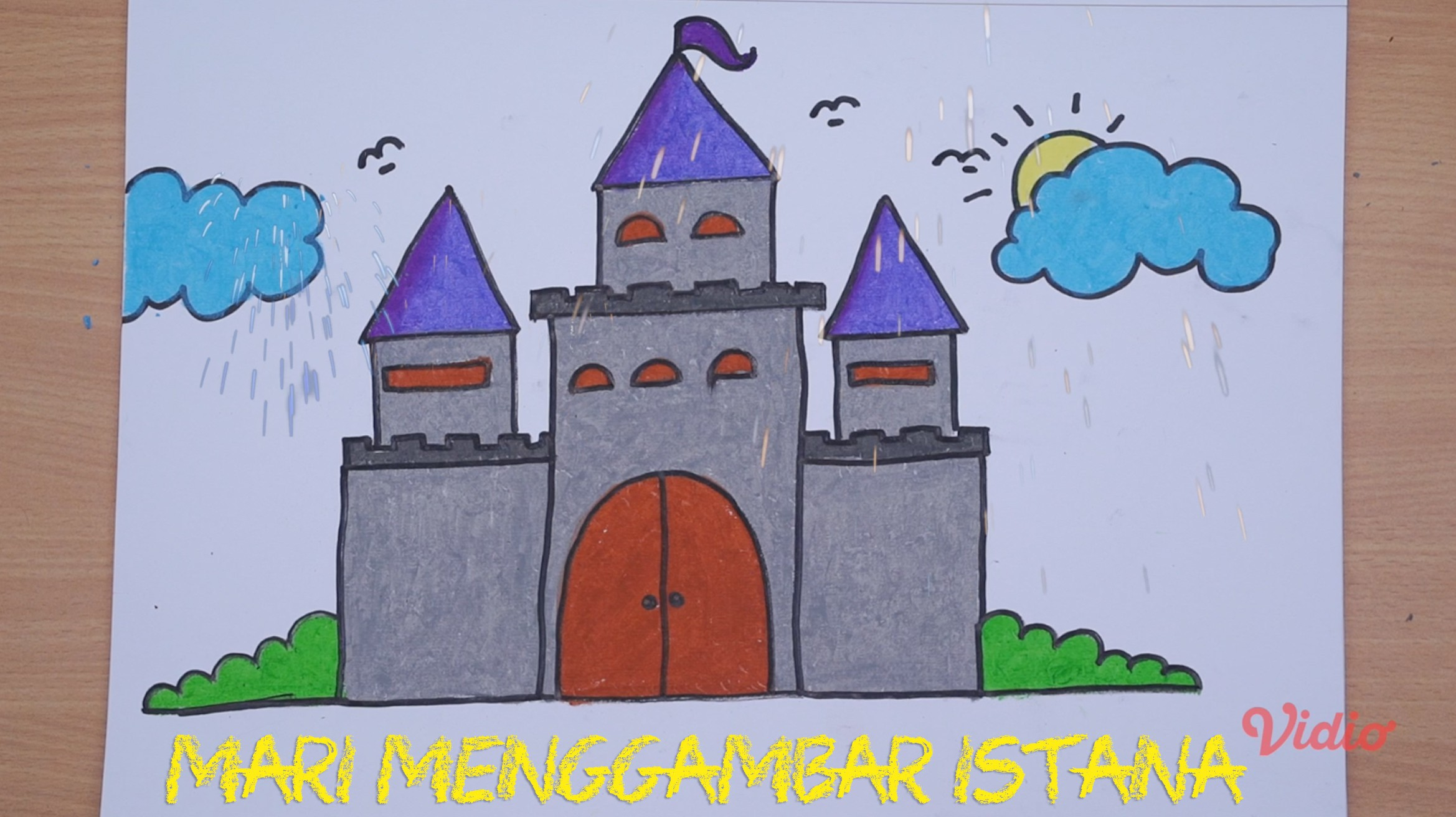 Mari Menggambar Istana