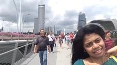 perjalanan sepanjang hari di kota Singapura