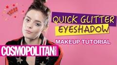 Quick Glitter Eyeshadow Makeup Tutorial (Tanpa Fall Out) GIVEAWAY ALERT!