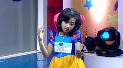 Hai! Snow White mau ikutan audisi Idol Junior dulu ya! :D